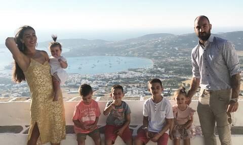 Χοψονίδου-Σπανούλης: Το όνομα που έδωσαν στο 6ο τους παιδί (photos)