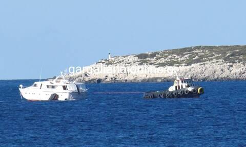 Μεσσηνία: Ένας τραυματίας μετά από πρόσκρουση σκάφους στη Νήσο Πρώτη