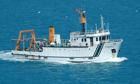 Νέα τουρκική NAVTEX: Το YUNUS βγαίνει για έρευνες κοντά στο Καστελλόριζο