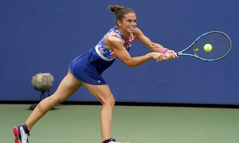 US Open: Τέλος το όνειρο για τη Γραμματικοπούλου - Ηττήθηκε 2-0 από τη Μέρτενς