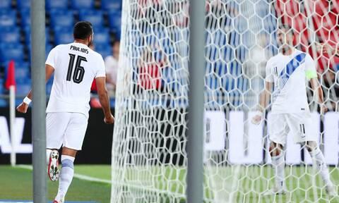 Εθνική ομάδα: «Ανεβασμένη» η Ελλάδα, έκανε το 1-1 (video)