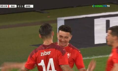 Εθνική ομάδα: Πήρε ξανά προβάδισμα η Ελβετία με ασίστ του Τσούμπερ (video)
