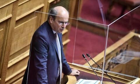 Χατζηδάκης: «Χολερική» η αντίδραση του ΣΥΡΙΖΑ στην υπόθεση Αποστολάκη - Κόντρα με Σκουρλέτη