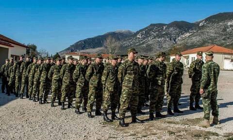 Πρόσκληση για κατάταξη στο Στρατό Ξηράς με την 2021 Ε/ΕΣΣΟ