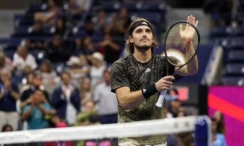 US Open: Προκρίθηκε στον τρίτο γύρο ο Στέφανος Τσιτσιπάς