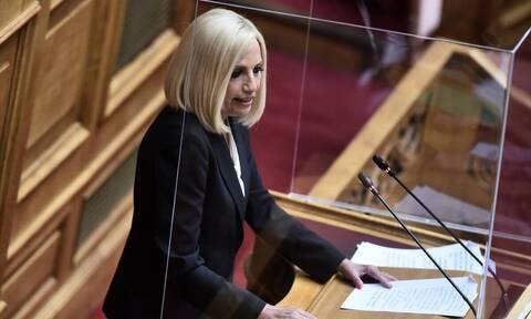 Φώφη Γεννήματα: «Ο κ. Μητσοτάκης φτιάχνει μια Ελλάδα για λίγους»