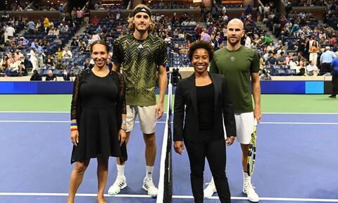 US Open: Οργή Μαναρινό για Τσιτσιπά - Το νέο διάλειμμα και η αντίδραση του Έλληνα άσου! (pics)