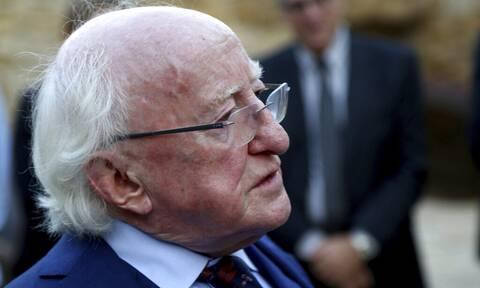 Την θλίψη του για τον θάνατο του Μίκη Θεοδωράκη εκφράζει ο Ιρλανδός πρόεδρος