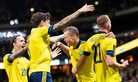 Προκριματικά Κατάρ 2022: Σουηδικός θρίαμβος με ανατροπή, «γκέλα» για Ιταλία! (Videos+Photos)