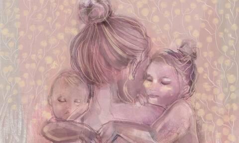 Το μεγαλείο της μητρότητας - Σκίτσα που συγκινούν