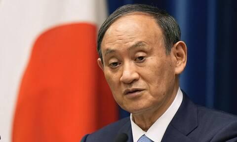 Ο πρωθυπουργός της Ιαπωνίας, Γιοσιχίντε Σούγκα