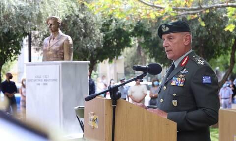 Συγκίνηση στο μνημόσυνο του Λοχία Κωνσταντίνου Μελιγκώνη - Αποκαλυπτήρια της προτομής του