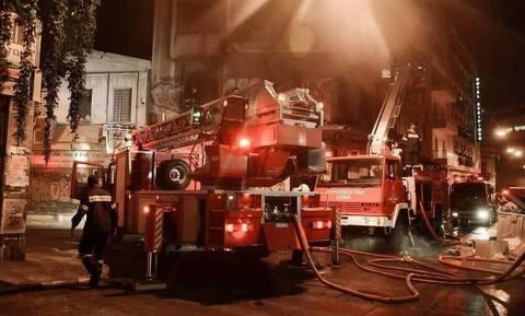 Φωτιά: Στις φλόγες διαμέρισμα στη Νίκαια