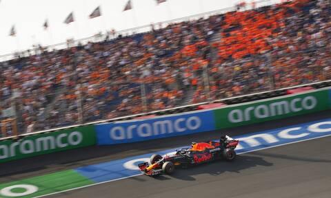 Formula 1: Poleman στο «σπίτι» του Μαξ Φερστάπεν (video+photos)