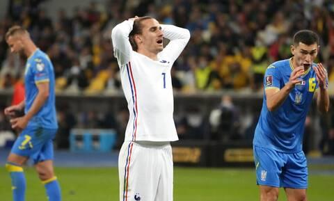 Προκριματικά Παγκοσμίου Κυπέλλου: Ούτε στην Ουκρανία τα κατάφερε η Γαλλία – Όλα τα γκολ (videos)