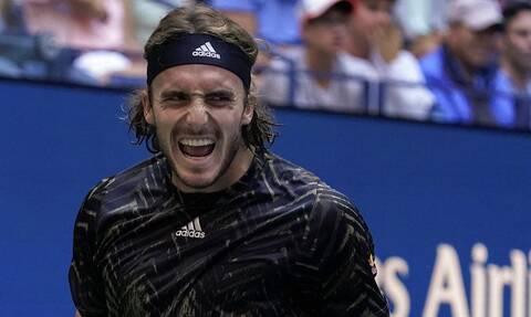 Στέφανος Τσιτσιπάς: Το μήνυμα του μετά τον αποκλεισμό στο US Open (photo+video)