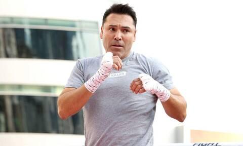 Στο νοσοκομείο με κορονοϊό το «χρυσό παιδί» της πυγμαχίας, Όσκαρ Ντε λα Χόγια (video)