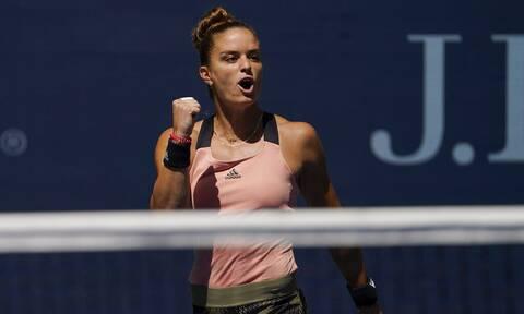 Μαρία Σάκκαρη: Θρίαμβος επί της Κβίτοβα! Πέρασε στους «16» του US Open (video)