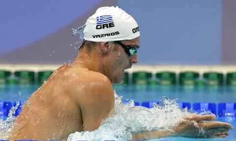 Κολύμβηση: Νίκη για τον Βαζαίο, «άγγιξε» το πανελλήνιο ρεκόρ ο Χρήστου (video)