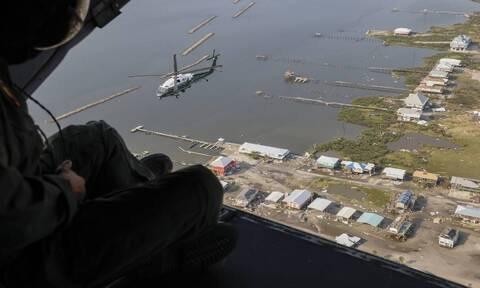 ΗΠΑ - Κυκλώνας Άιντα: Τους 12 έφτασαν οι νεκροί στη Λουιζιάνα