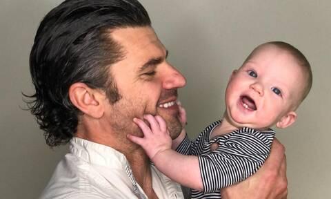 Χρήστος Βασιλόπουλος: Δείτε τις νέες φώτο που δημοσίευσε με τον γιο του