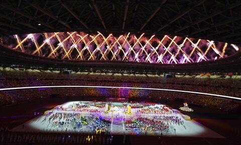 Παραολυμπιακοί Αγώνες: Έσβησε η φλόγα στο Τόκιο - Λιτή αλλά πολύ όμορφη η τελετή λήξης (vids+pics)
