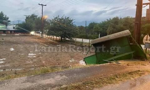 Φθιώτιδα: Ανεξέλεγκτο τρακτέρ έπεσε σε στάση