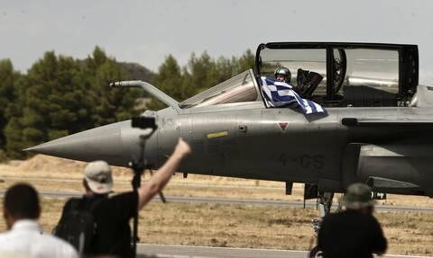 Πολεμική Αεροπορία: Ενθουσιασμός για τα Rafale – Μήνυμα ισχύος σε Τουρκία από την Athens Flying Week