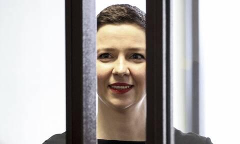 Λευκορωσία: 11ετής κάθειρξη στη Μαρία Κολεσνίκοβα, ηγέτιδα της αντιπολίτευσης