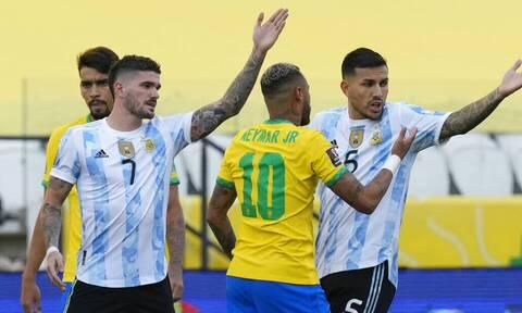 Βραζιλία-Αργεντινή: Αυτό που συνέβη λέγεται ποδοσφαιρική ξεφτίλα
