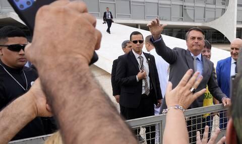 Βραζιλία: Επεισόδια μεταξύ αστυνομίας και οπαδών του προέδρου Μπολσονάρου