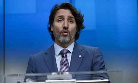 Καναδάς: Πέταξαν πέτρες στον πρωθυπουργό Τζάστιν Τριντό κατά την προεκλογική του εκστρατεία