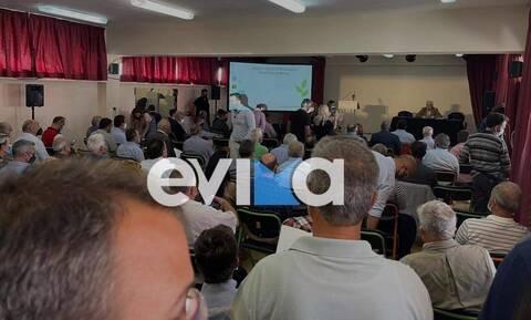 Βόρεια Εύβοια: Η παρουσίαση του προγράμματος ανασυγκρότησης από τον Σταύρο Μπένο