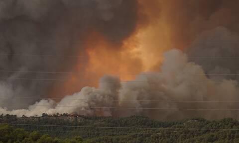 Ισπανία: Εκτός ελέγχου η φωτιά στη Γαλικία – Οφείλεται σε εμπρησμό