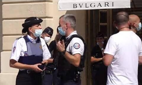 Παρίσι: Ένοπλη ληστεία σε κοσμηματοπωλείο της αλυσίδας Bulgari - Άρπαξαν κοσμήματα 10 εκατ. ευρώ