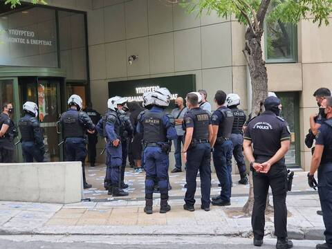 Εισβολή στο ΥΠΕΝ: Η ΕΛΑΣ προχώρησε στη σύλληψη 24 μελών του «Ρουβίκωνα»