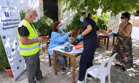 Εμβολιασμοί στην Κρήτη