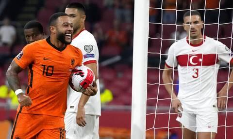 Προκριματικά Παγκοσμίου Κυπέλλου: «Εξάρα» της Ολλανδίας στην Τουρκία - Όλα τα γκολ (vids)