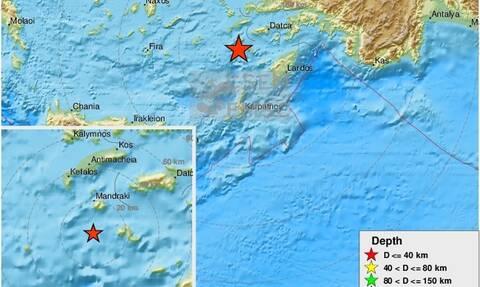 Σεισμός ανάμεσα σε Νίσυρο και Τήλο (pics)