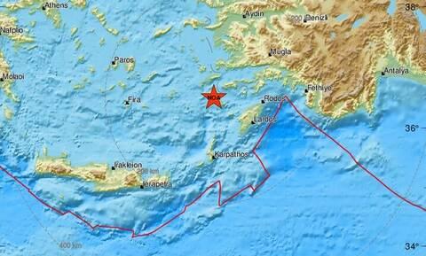 Σεισμός 4,5 Ρίχτερ κοντά στη Νίσυρο (pics)