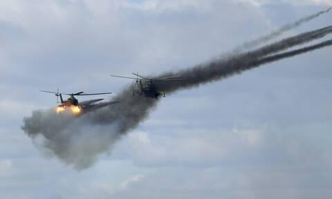 Ρωσικές στρατιωτικές ασκήσεις στις Κουρίλες, τις οποίες διεκδικεί η Ιαπωνία