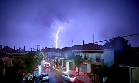 Weather service warns of heavy rain and storms on Wednesday and Thursday