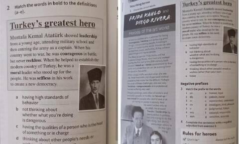 Σάλος στην Κύπρο: Ζητήθηκε να σκιστεί σελίδα σχολικού βιβλίου με τον Ατατούρκ