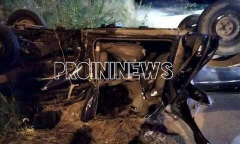 Τροχαίο Καβάλα: Σκοτώθηκε 38χρονος - Έπεσε με το αμάξι του από 10 μέτρα ύψος (Pics)
