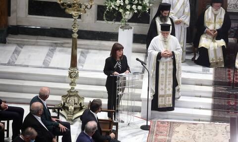 Σακελλαροπούλου: Αποχαιρετούμε τον Έλληνα και Οικουμενικό, Πατριώτη και Διεθνή Μίκη Θεοδωράκη