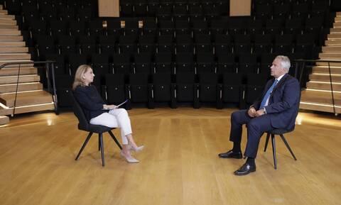 Ο Μάκης Βορίδης στο Newsbomb.gr και την Όλγα Τρέμη: Δεν πρέπει και δεν θα γίνουν εκλογές το 2022