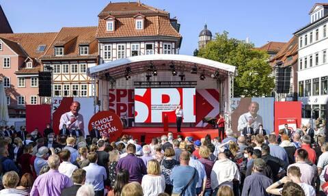 Γερμανία: Αυξάνει τα ποσοστά του σε Β.Ρηνανία - Βεσφαλία και Βαυαρία το SPD - Υποχωρούν CDU/CSU
