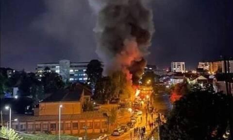 Σκόπια: Δέκα νεκροί σε πυρκαγιά που ξέσπασε σε μονάδα για ασθενείς με κορονοϊό στο Τέτοβο