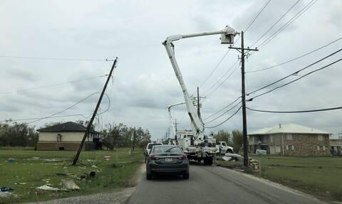 ΗΠΑ: Στους 26 οι νεκροί από τον τυφώνα «Άιντα» στη Λουϊζιάνα