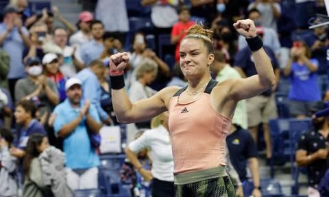 Μαρία Σάκκαρη: Έτσι πήρε τη σπουδαία πρόκριση στα ημιτελικά του US Open (vid)
